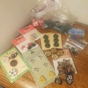 Crafting buttons